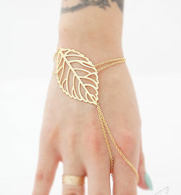 Manufacturer Non Plated Gold Alloy Bracelets for Women