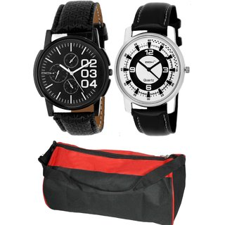DCH GYMIN-6.25 Pack Of 2 Analogue Wrist Watches For Men And Boys