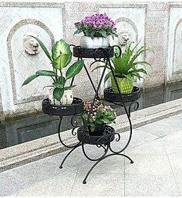 Chauhan Group  Iron fancy pot stands