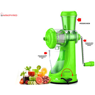 Fruit And Vegetable Juicer Heavy with Steel Handle