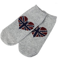 Magideal 1Pair Women Men Ankle Socks Low Cut Crew Casua