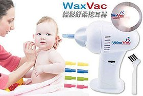 NEW ATTRACTIVE EAR CLEANER WAX-VAC EAR WAX REMOVER WAX VAC