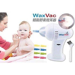 NEW ATTRACTIVE EAR CLEANER WAX-VAC EAR WAX REMOVER WAX VAC
