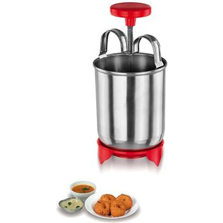 Medu Wada Maker stainless steel with leg for perfect grip