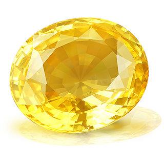 jaipur gemstone 7.25 ratti yellow sapphire