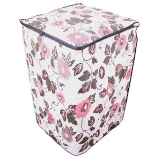 Dream CareFloral And Leafy Multi coloured Waterproof & Dustproof Washing Machine Cover For Godrej WT Eon 700 PFD Fully Automatic Top Load 7kg washing machine