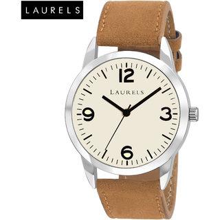 Laurels Colors II Ivory Dial Men'S Watch - Lo-Colors-II-010907