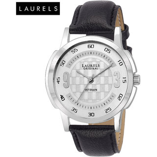 Laurels Veteran Silver Dial Men'S Watch - Lo-Vet-101