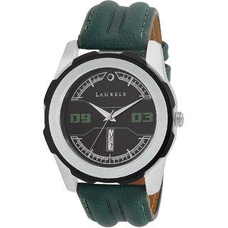 Laurels Large Size DexterII Series Green Color Men Watch (Lo-DXTR-II-040407)