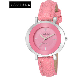 Laurels Diva Pink Dial Women Watch (Lo-Dv-VI-121207)