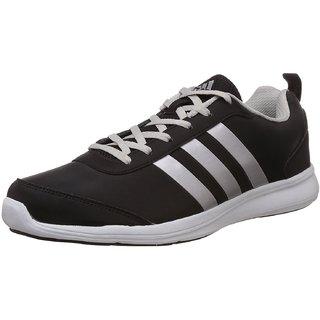Comprare adidas uomini alcor syn m nero ed argento scarpe da corsa