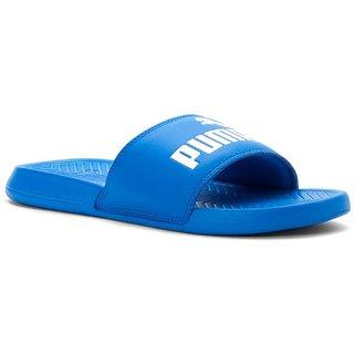 9665e03ccfa2bc Buy Puma Popcat Slide Sandals Blue Online   ₹1999 from ShopClues