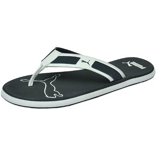 f6a7448f2f90e7 Puma Men S Breeze NG DP Surf The Web White Slippers And Flipflops