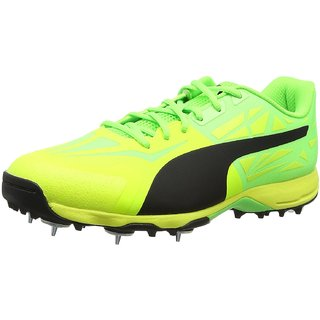 a491db99998 Buy Puma Men S Evospeed 1.5 Cricket Spike Safety Yellow Online ...