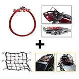 CM-Bike Utility Combo Of Multipurpose Number Lock And Bungee Cargo Net For Helmet /Luggage