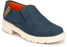 Wonker Blue Casual Slip On Shoes