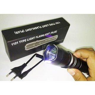 Luxe Mart 1101 million volt Rechargeable Flash Light Stun Gun Self Defense