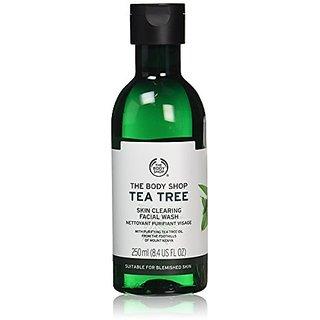 The Body Shop Tea Tree Skin Clearing Facial Wash for Blemish-Prone Skin, 100 Vegan, 8.4 Fl. Oz.