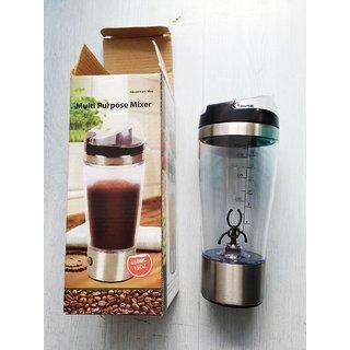 Protein Shaker Multi Purpose Mixer self stirring Mug cup Battery Operated