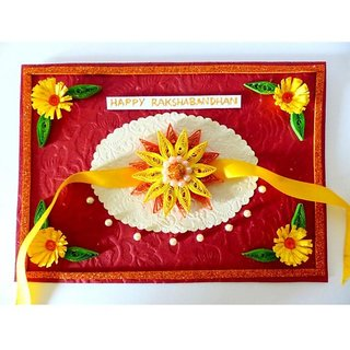 Handmade paper and moti greeting card prices in india shopclues handmade paper and moti greeting card m4hsunfo