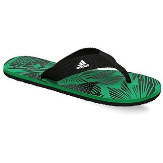 c449aefd6e2 Buy Adidas Men s Black Green Flip Flops Online - Get 49% Off