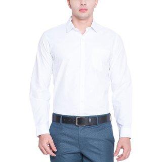 Men's Formal Shirt White