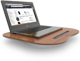 Tizum Portable Lapdesk laptop Pillow with Built-in Soft Cushion ,Can Be Used as Laptop Table / Stand , Studying