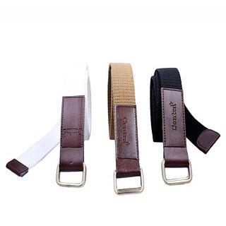 contra double kari canvas belt set of 3 pc.KBH-174