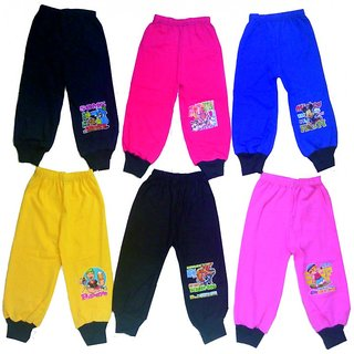 4 Ways Multicolor Rib Track Pant (Pack of -6)