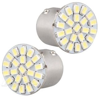 2 X 22 SMD LED Brake  Parking Light for all Cars  Bikes 6000K White
