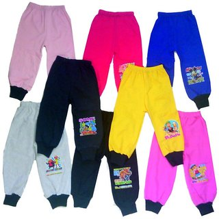 4 Ways Multicolor Rib Track Pant (Pack of -8)