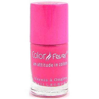 Color Fever Neon Nail Polish - Pink
