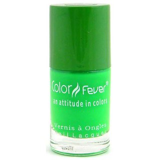 Color Fever Neon Nail Polish - Green