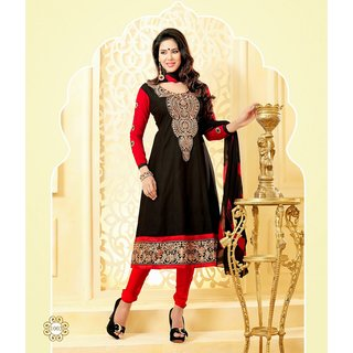 Exclusive Designer Anarkali Suit Black