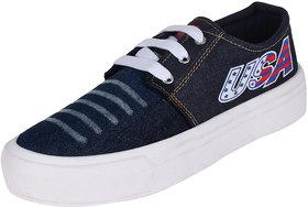 Axter Women's Blue Sneakers
