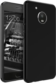 Motorola Moto G5 plus back cover black
