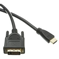 C&E 2 Pack HDMI To DVI Cable, HDMI Male To DVI Male 35