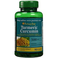 2 Pack Of Turmeric Curcumin 500 Mg Puritan's Pride Turm