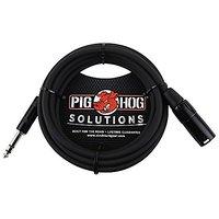 Pig Hog Solutions TRS(M) To XLR(M) Balanced Adapter Cab