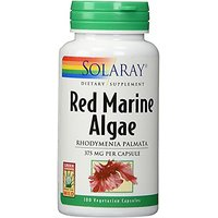 Solaray - Red Marine Algae, 375 Mg, 100 Capsules