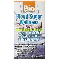Bio Nutrition Blood Sugar Wellness Vegi-Caps, 60 Count