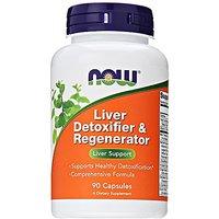NOW Foods Liver Detoxifier And Regenerator, 90 Capsules