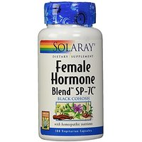 Solaray Female Hormone Blend SP-7C Capsules, 100 Count
