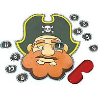 Party Game - Pin The Eye Patch On The Pirate