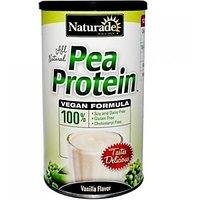 Naturade Pea Protein, Vanilla, 15.6 Oz.