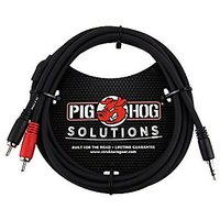 Pig Hog Solutions Stereo Breakout Cable 3.5mm To Dual R