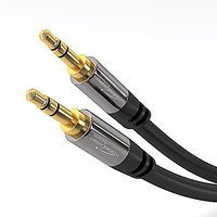 KabelDirekt 3.5mm Aux To Aux Cable - Audio Cable Male T - 114409703