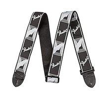 Fender Monogrammed Strap - Black/Light Grey/Dark Grey