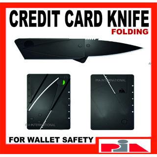 Credit Card Knife (black)