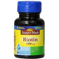 Nature Made Biotin 2500mcg, Softgels, 90-Count